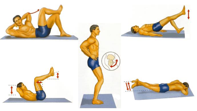 Упражнения для укрепления мужской силы