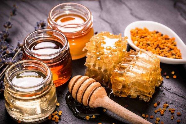 Разные сорта меда
