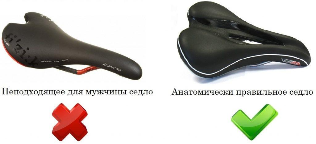 Седло для велосипеда: хорошее и плохое