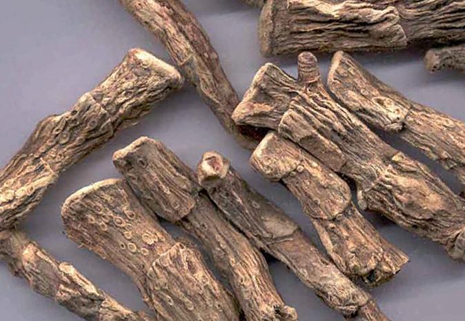 Сухой порезанный корень аира