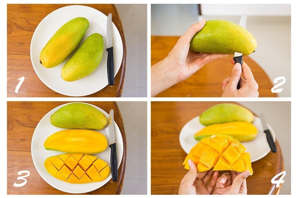 Ниже мы привели 3 простых способа почистить манго.